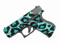 Teal Leopard