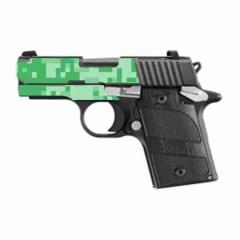 Sig Sauer P938 Custom Gun Wrap High Caliber Graphix