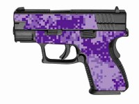 Dark Purple Digital Camo