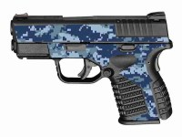 Navy Blue Digital Camo
