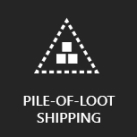 Pile-Of-Loot Shipping