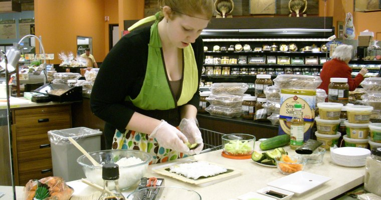 How-To Make Sushi at ShopRite, Slingerlands [PHOTOS]