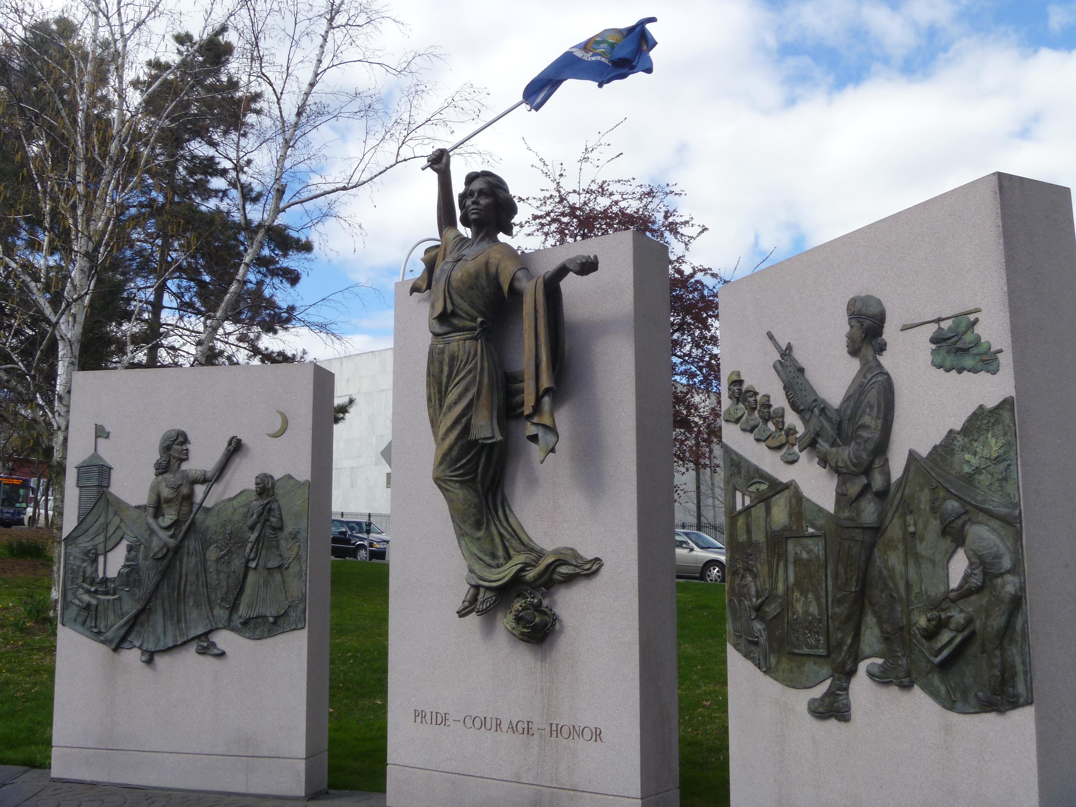 Women's War Memorial, Albany [PHOTOS]