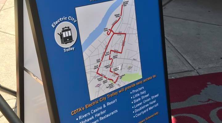 Free Trolley Service Coming to Schenectady