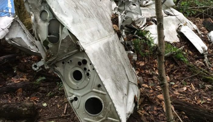 Abandoned Plane Crash Hike in the Catskills [PHOTO]