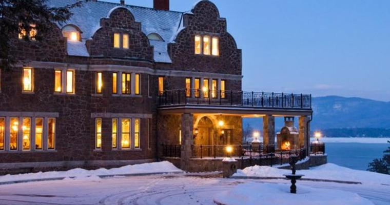 Stay Overnight in a Castle and Eat Dinner in an Igloo in Lake George