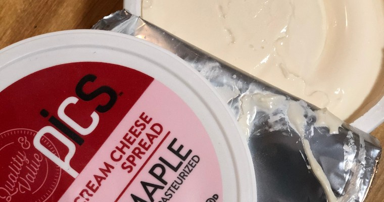 Limited Edition Maple Cream Cheese Hits Price Chopper