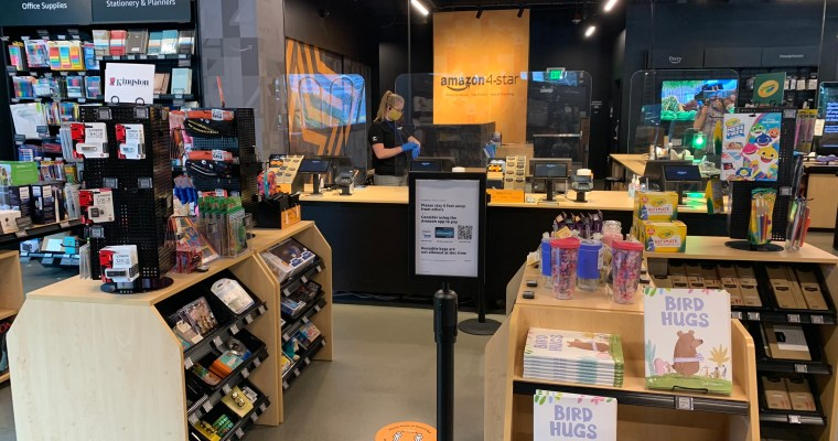 Amazon 4-Star Store Opens at Crossgates Mall