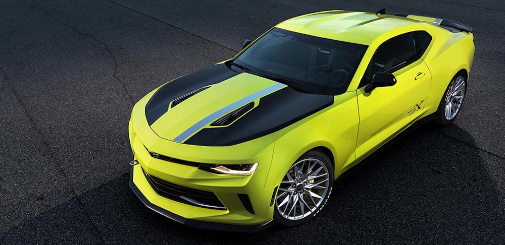 Camaro And Corvette Concepts At Sema 2016 51st State Autos
