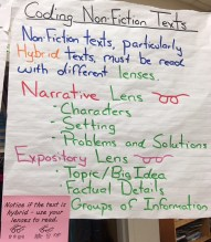Coding Non-Fiction Texts