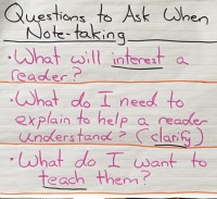 Note-Taking Questions