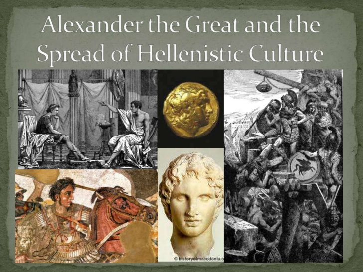 a picture of Hellenistic culture from 323 BC