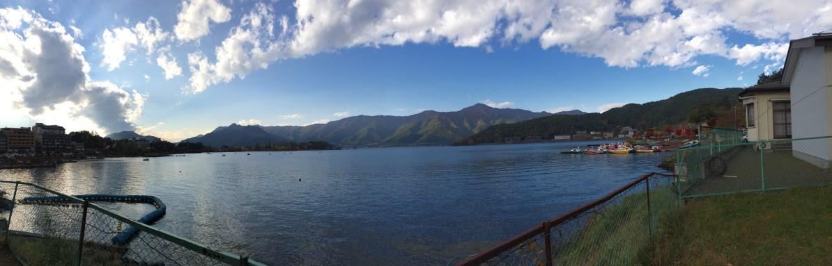 Panorama Danau Kawaguchi
