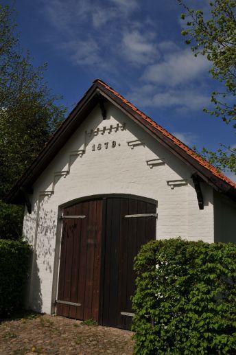 Altes Feuerwehrhaus Eingang zum Park Jersbek (Quelle Bruno Krautz)