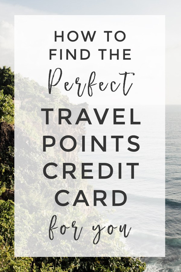 How to find the best travel rewards credit card for you