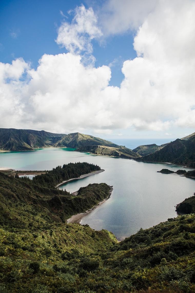 Lagoa do Fogo from above