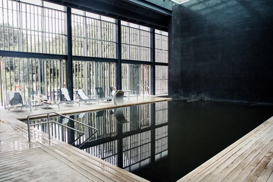 Furnas Boutique Hotel indoor pool