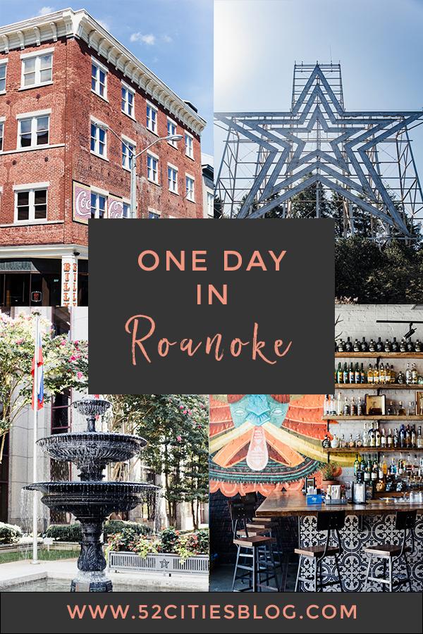 One day in Roanoke