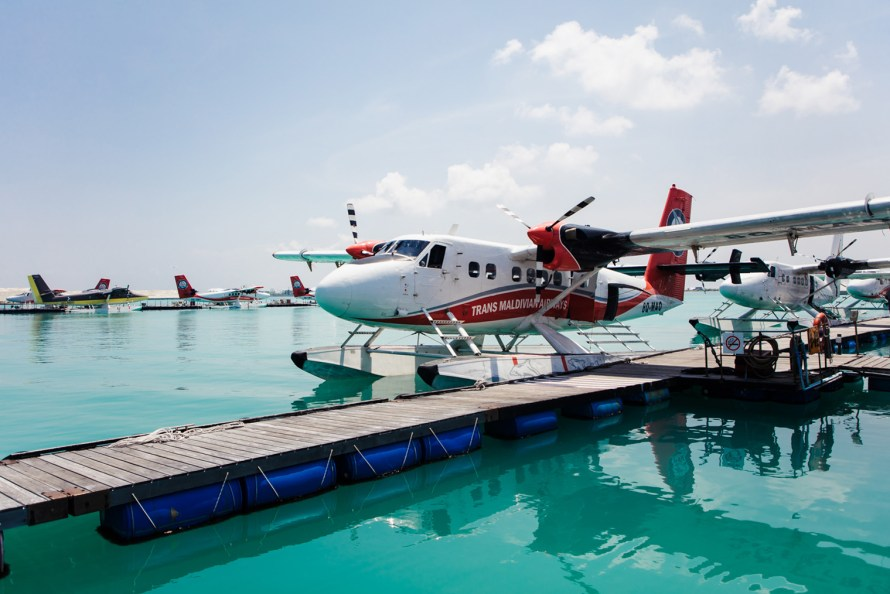 Trans Maldivian Airways seaplane
