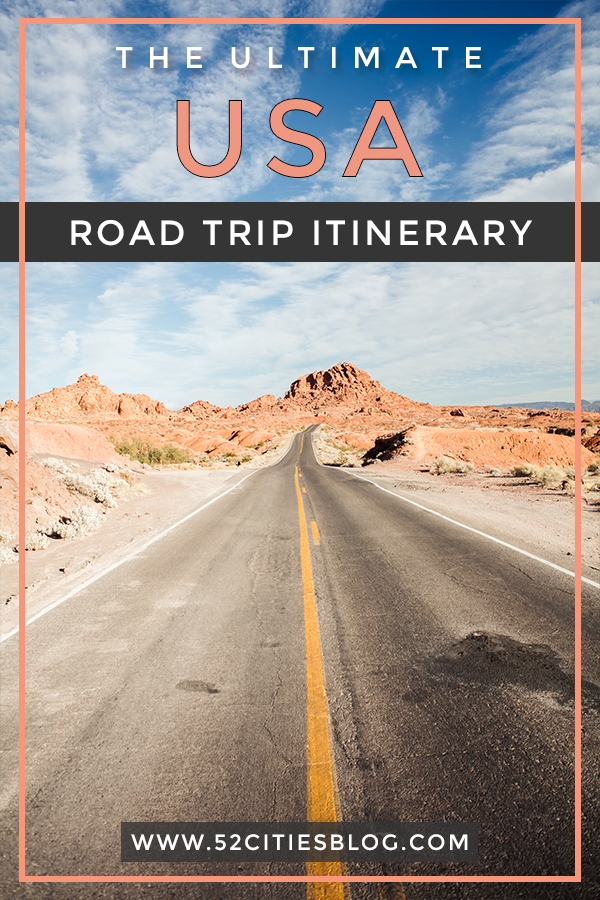 The ultimate USA road trip itinerary