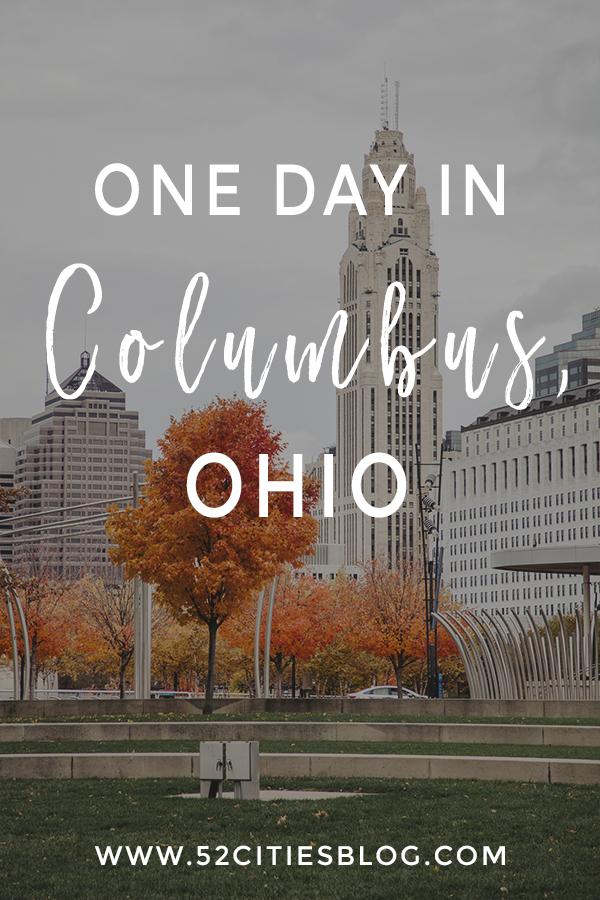 One day in Columbus, Ohio