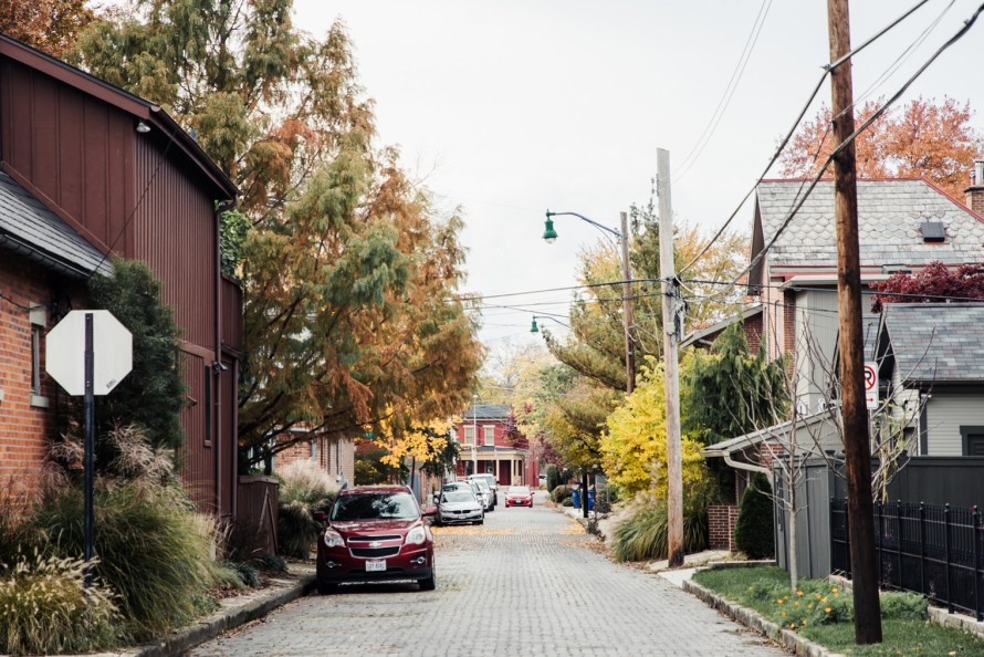 German Village street