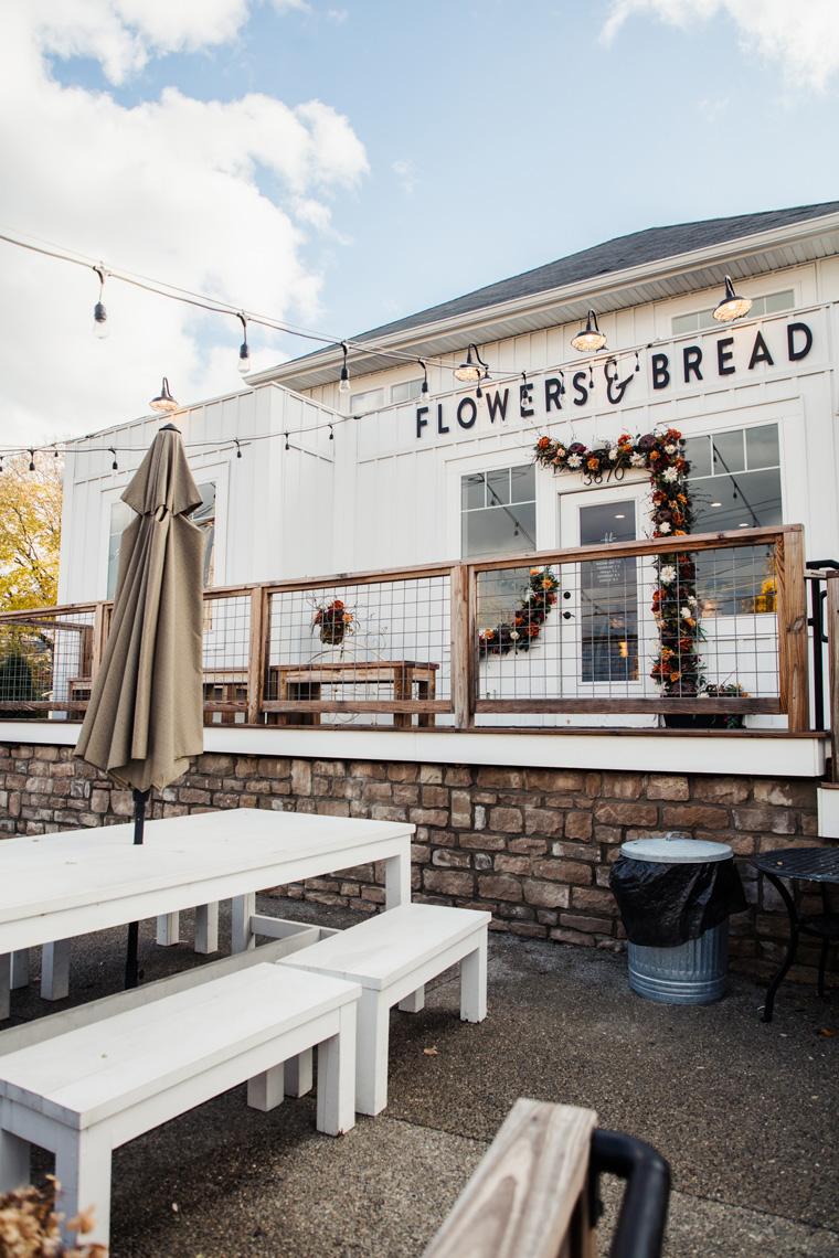 Flowers & Bread exterior