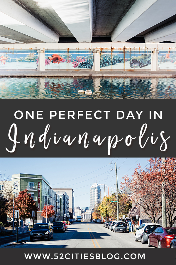 One perfect day in Indianapolis