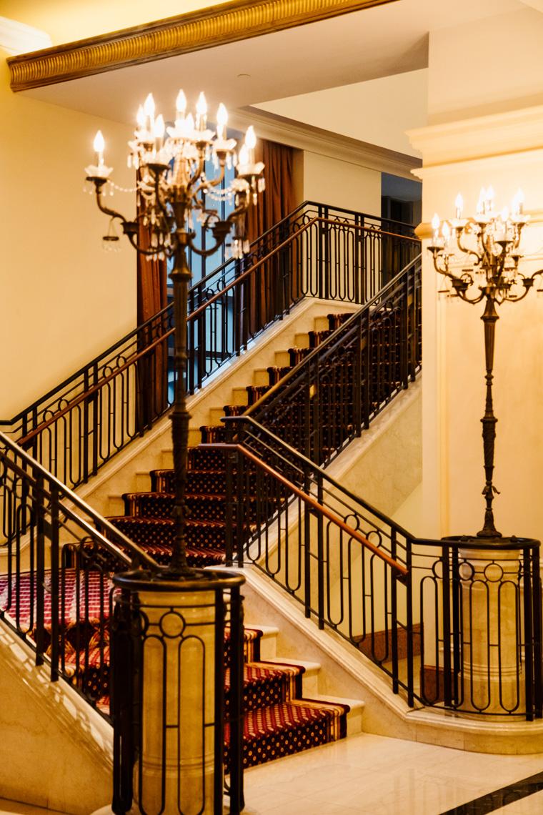 Conrad Indianapolis staircase