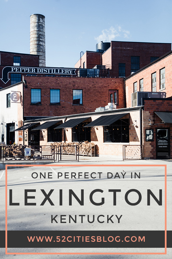One perfect day in Lexington Kentucky