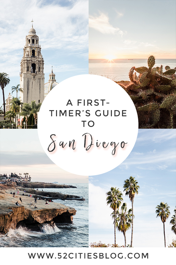 A first-timer's guide to San Diego
