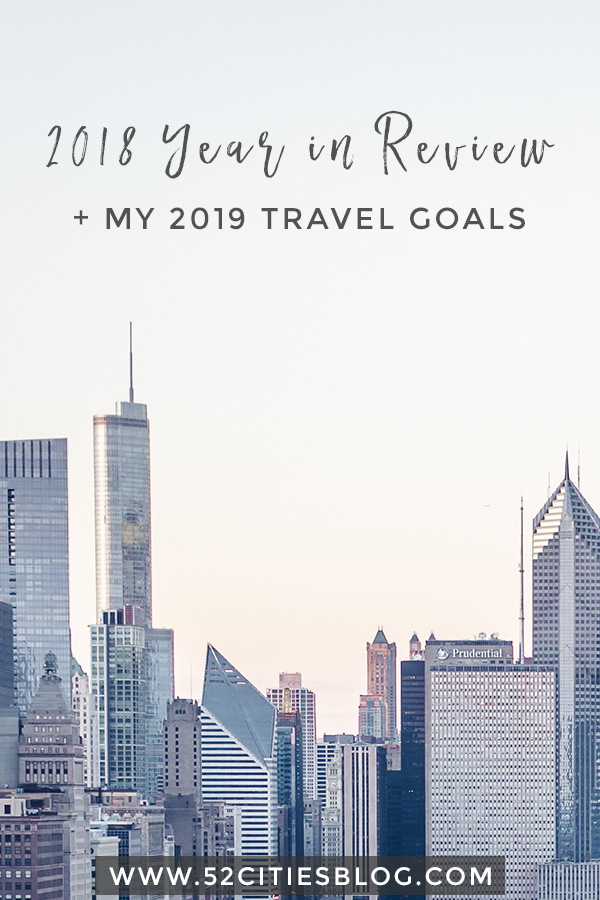 2018 year in review + my 2019 travel goals
