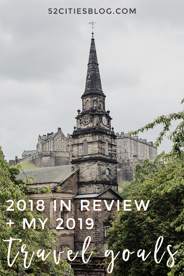 2018 in review + my 2019 travel goals