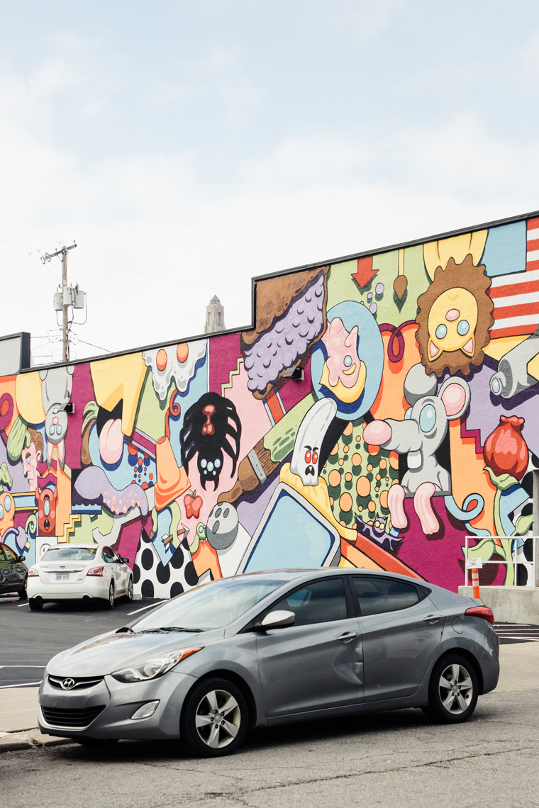 Painted wall in Kansas City