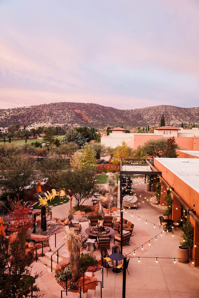 Sunrise at Hilton Sedona Resort at Bell Rock