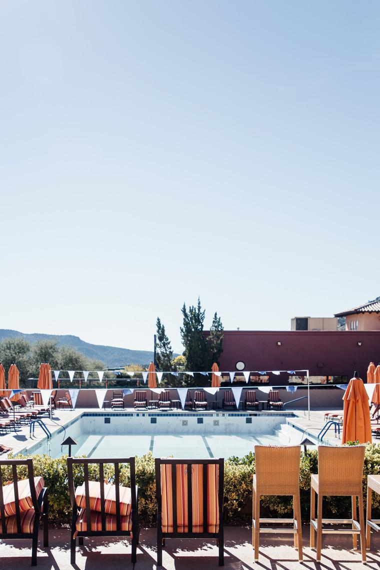 pool at Hilton Sedona Resort at Bell Rock
