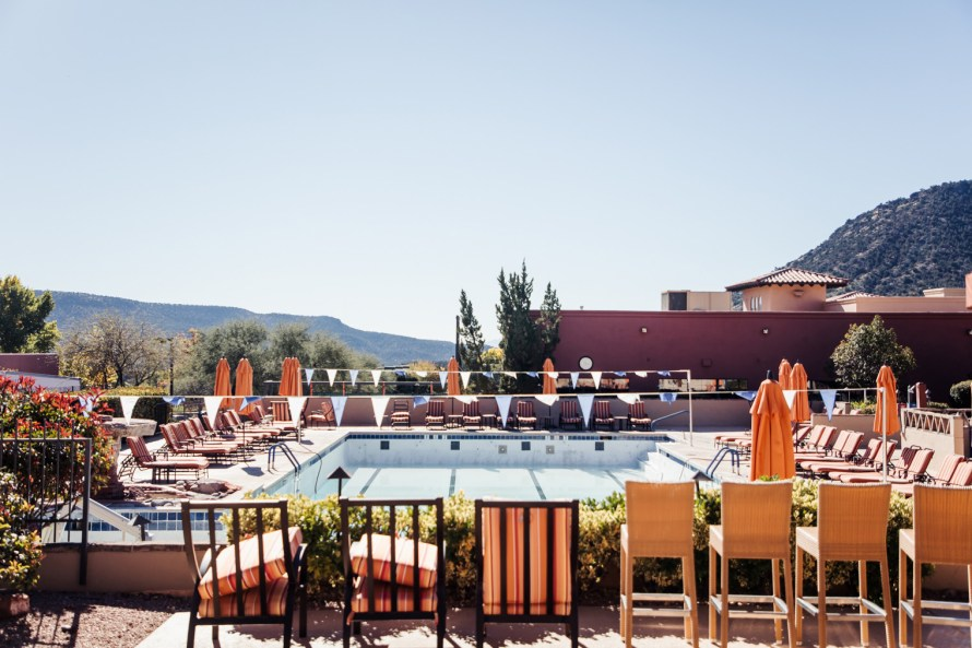 Hilton Sedona Resort at Bell Rock pool