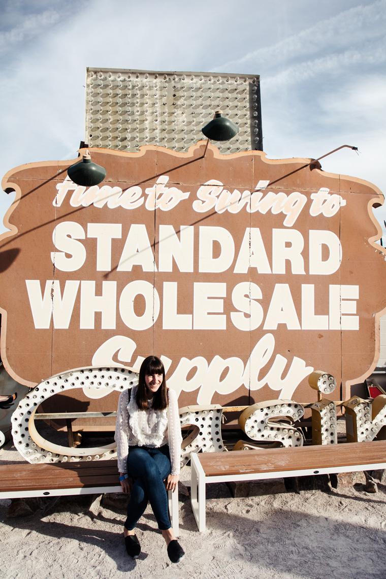 Standard Wholesale sign Las Vegas Neon Museum