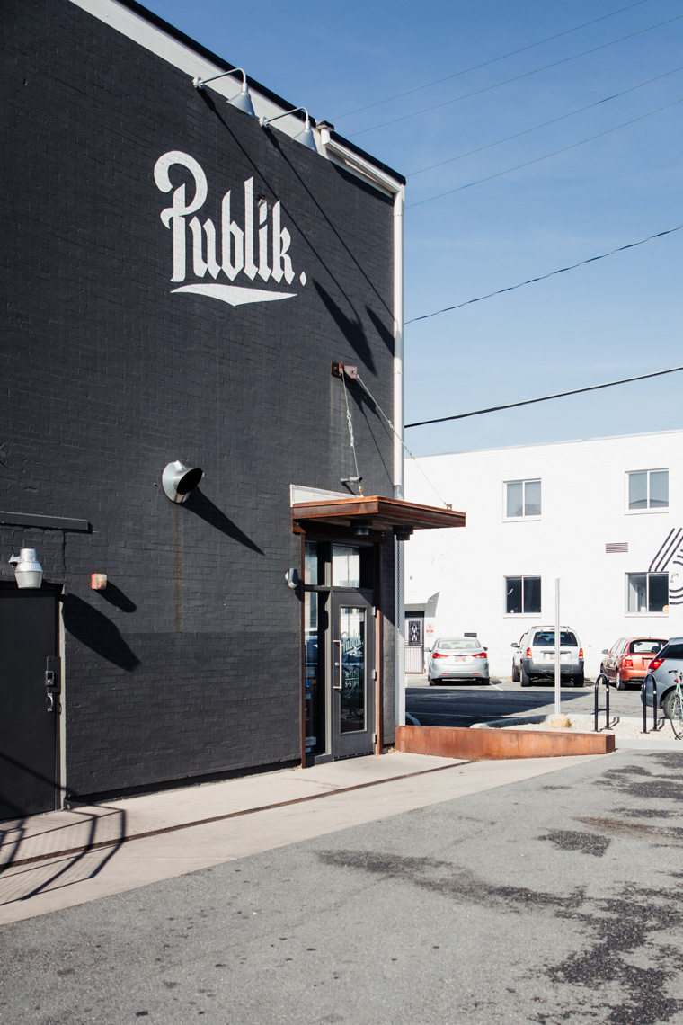 Exterior of Publik Coffee Roasters