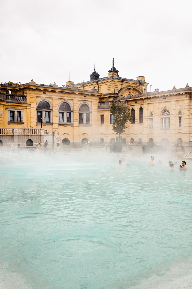 Szechenyi Thermal Baths Budapest bathhouse