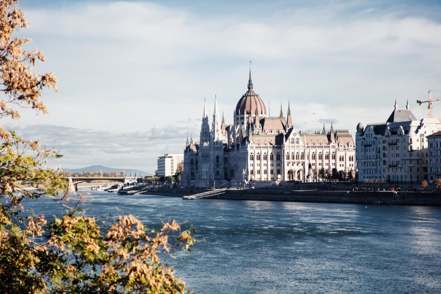 Parliament and river