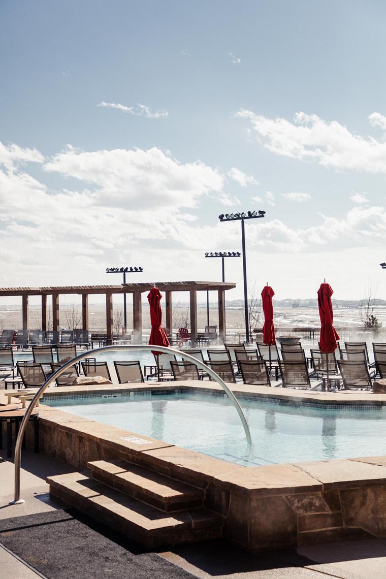 Gaylord Rockies Resort outdoor hot tub