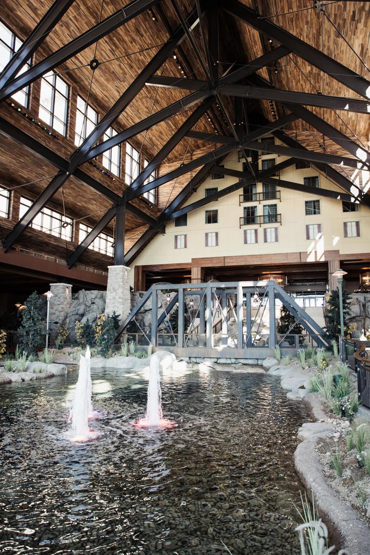 Gaylord Rockies Resort lobby fountain