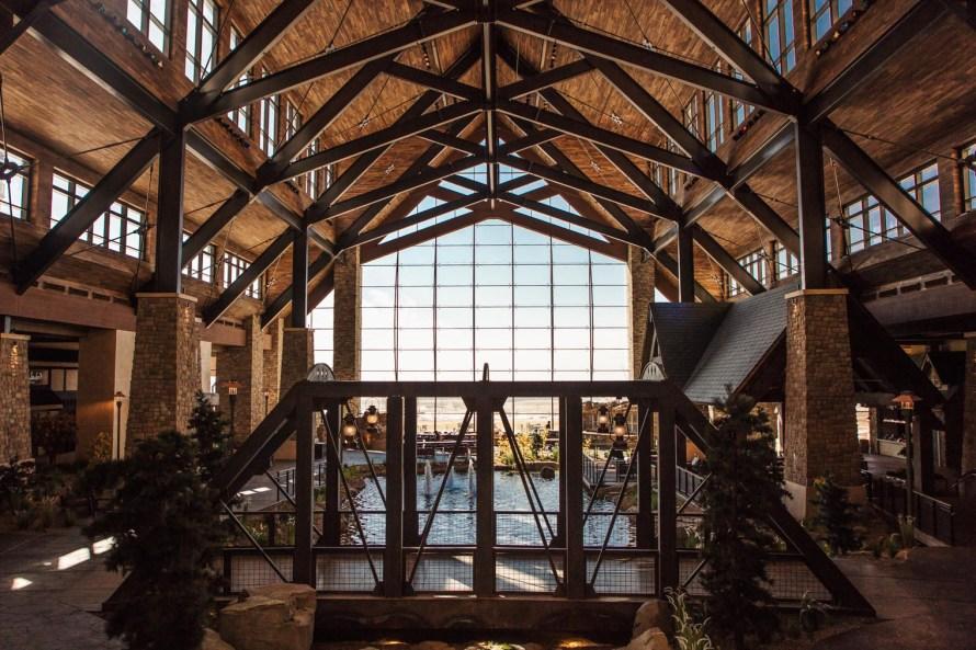 Gaylord Rockies Resort lobby