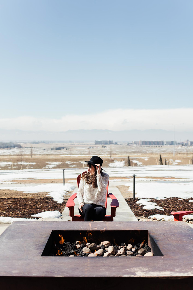 Carly by Gaylord Rockies Resort fire pit