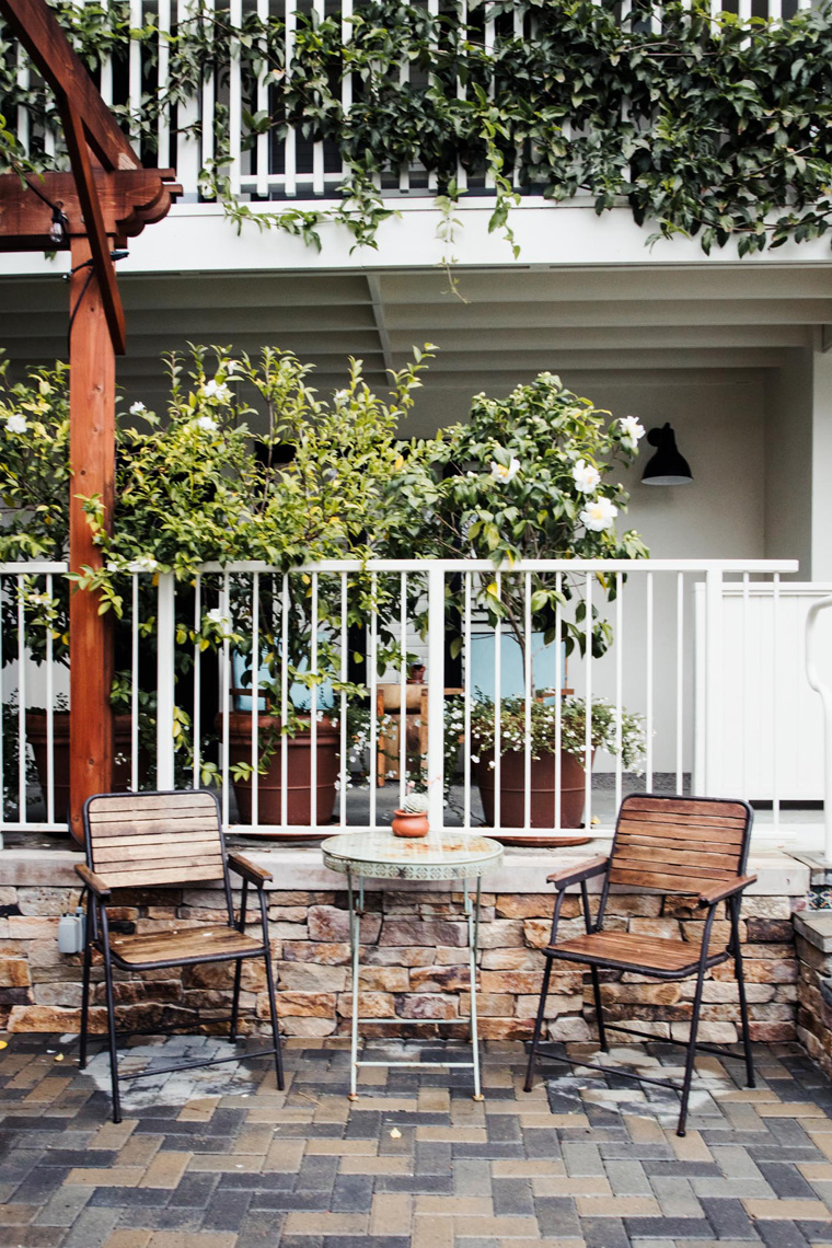 Hotel Carmel patio chairs
