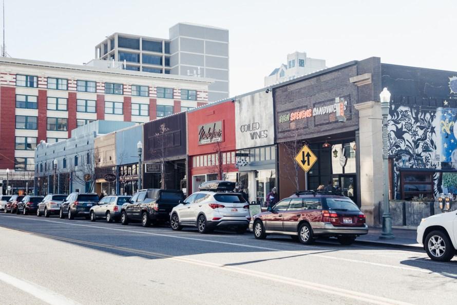 shops in downtown Boise