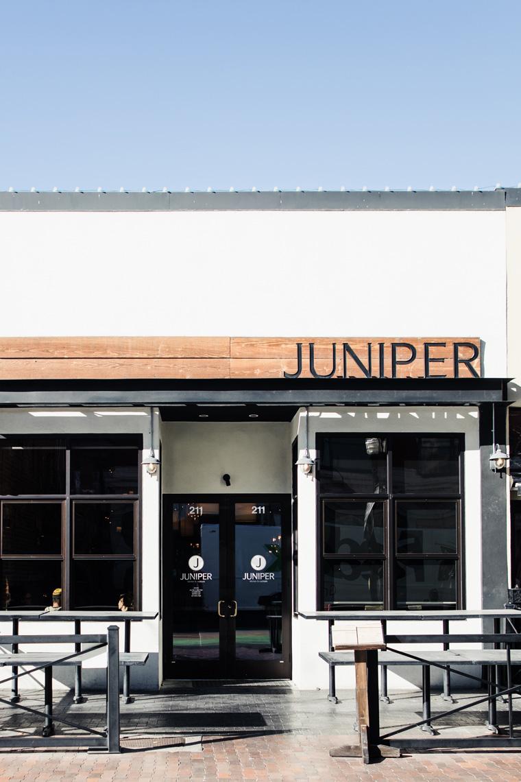 Juniper exterior