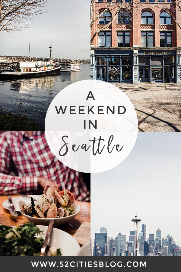 A weekend in Seattle