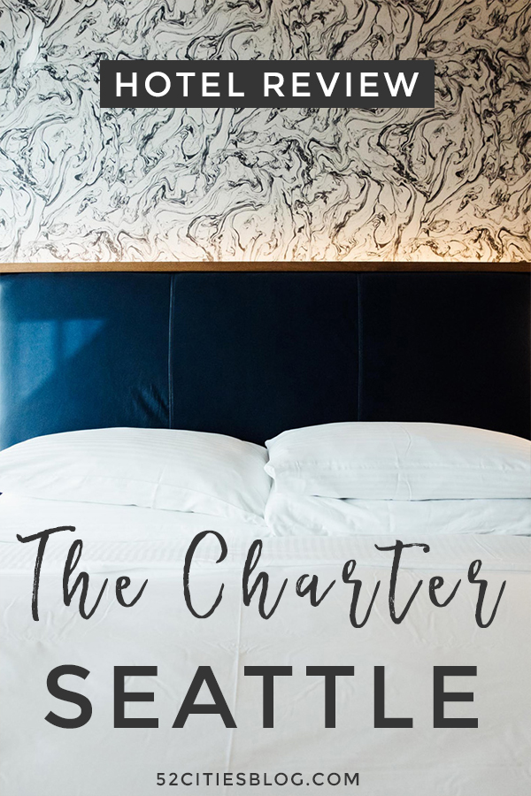 Hotel review: The Charter Seattle